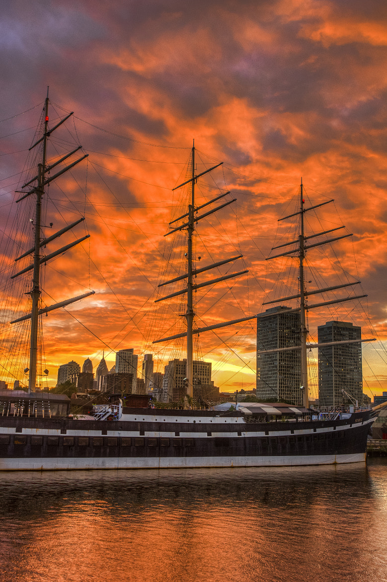 Photograph City Between the Masts by Stuart Cameron on 500px