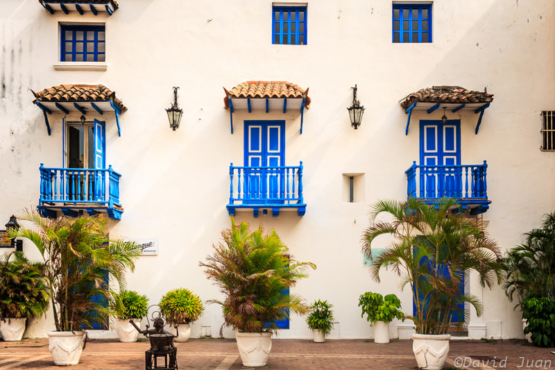 Photograph The three balconies by David Juan on 500px