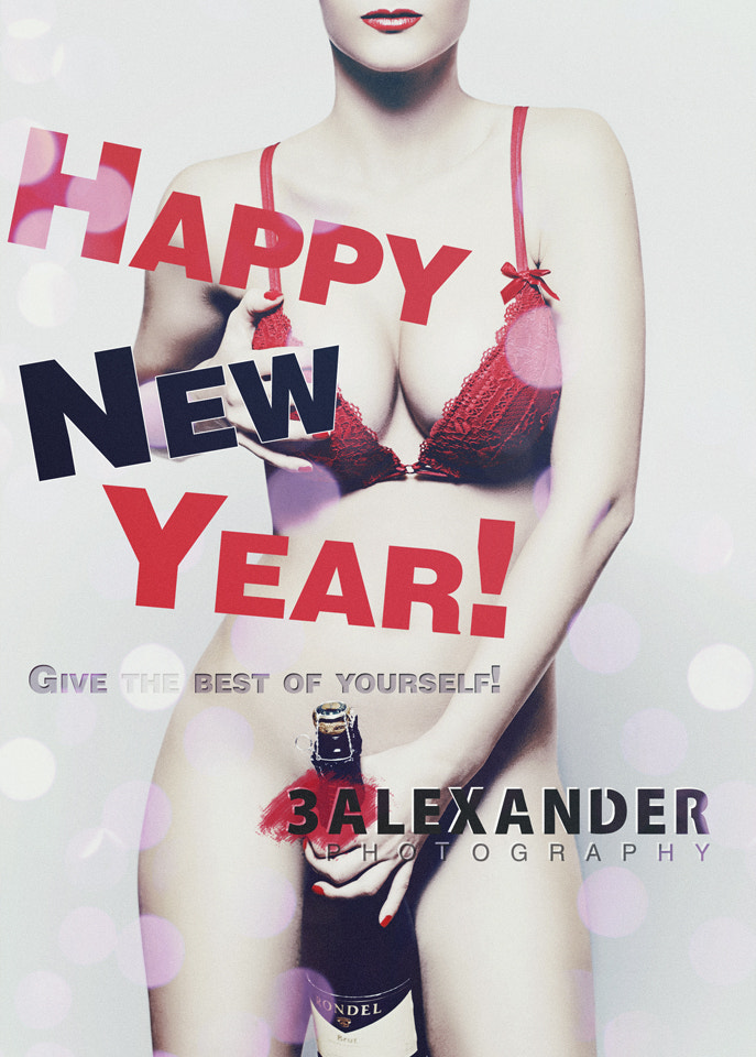 Photograph Happy new year! // Have a sexy 2012 by Alex Mihai C on 500px