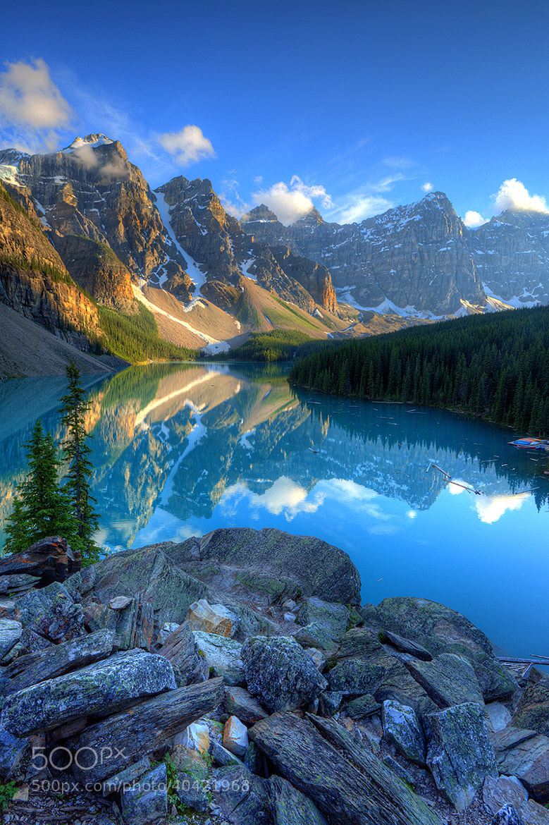Photograph Moraine Lake by Matthew Hahnel on 500px