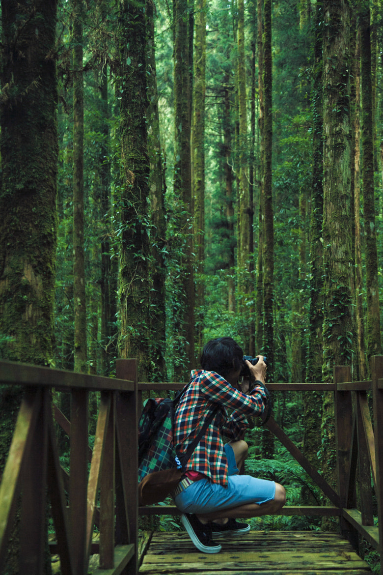 Photograph Colorful Photographer In The Forest by Hanson Mao on 500px