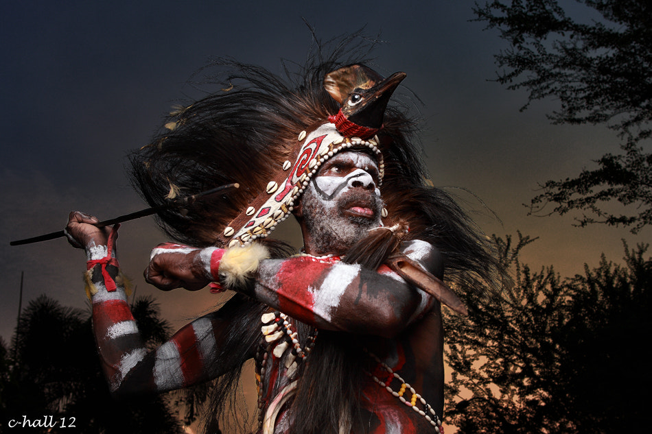 Photograph Chieftain of Dani Society on hunting by Hasiholan  Pank on 500px