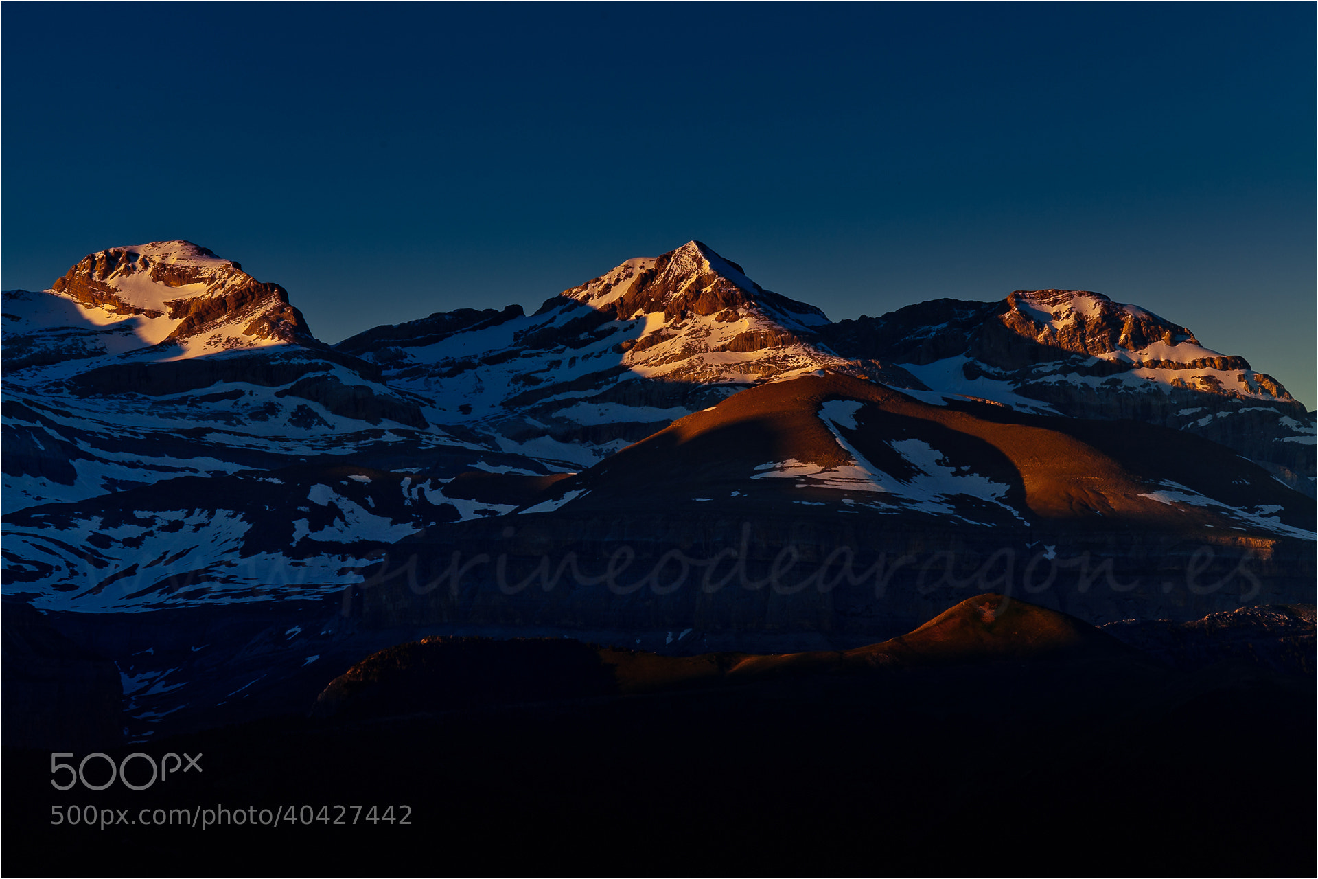 Photograph Monte Perdido (Huesca) by Ferran Cartagena  on 500px