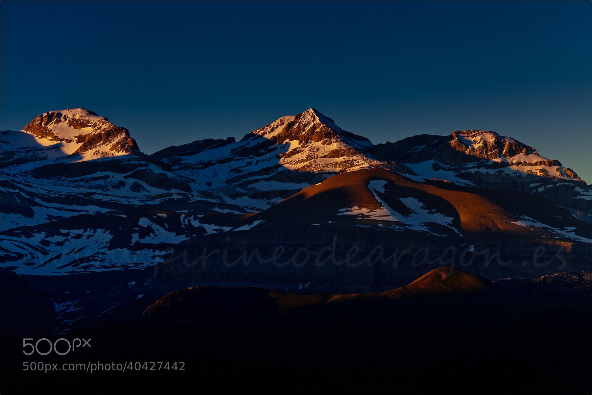 Photograph Monte Perdido (Huesca) by Ferran Cartagena  on 500px