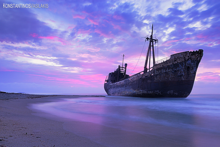 Photograph The ghost ship of Mani by Konstantinos Vasilakis on 500px