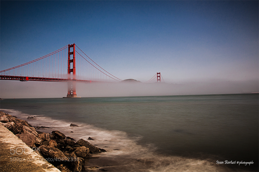 Photograph Golden Gate by Ivan Bertusi on 500px
