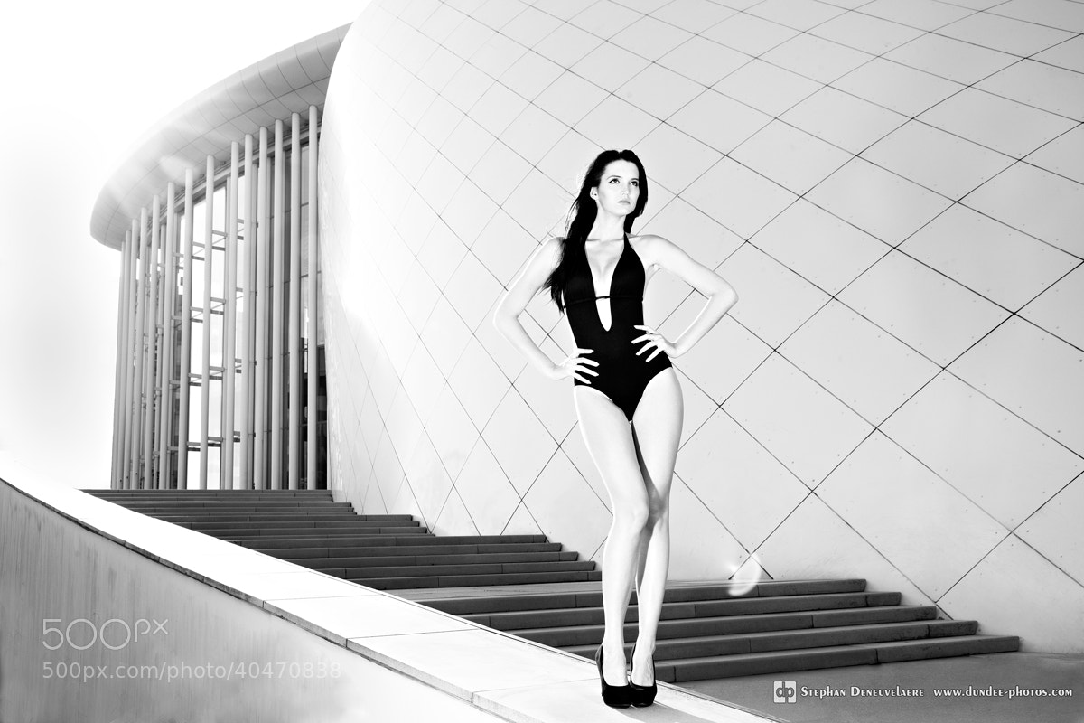 Photograph Alexia BW by Stephan Deneuvelaere on 500px