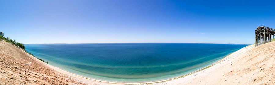 Sleepy Bear Dunes - Panoramic