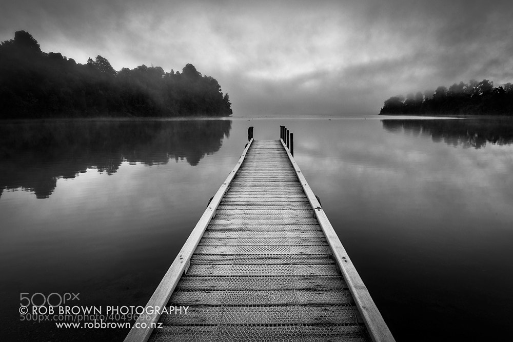 Photograph Winter morning, Lake Mapourika by Rob Brown on 500px