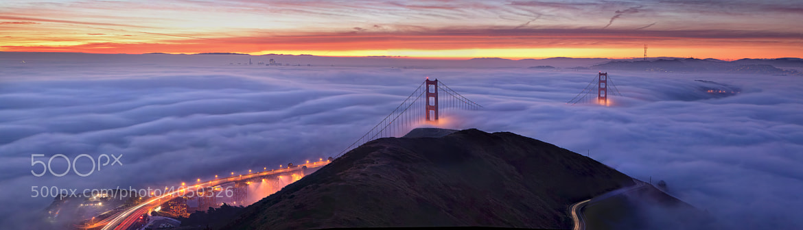 Photograph Slacker Hill Panorama by Alan Chan on 500px
