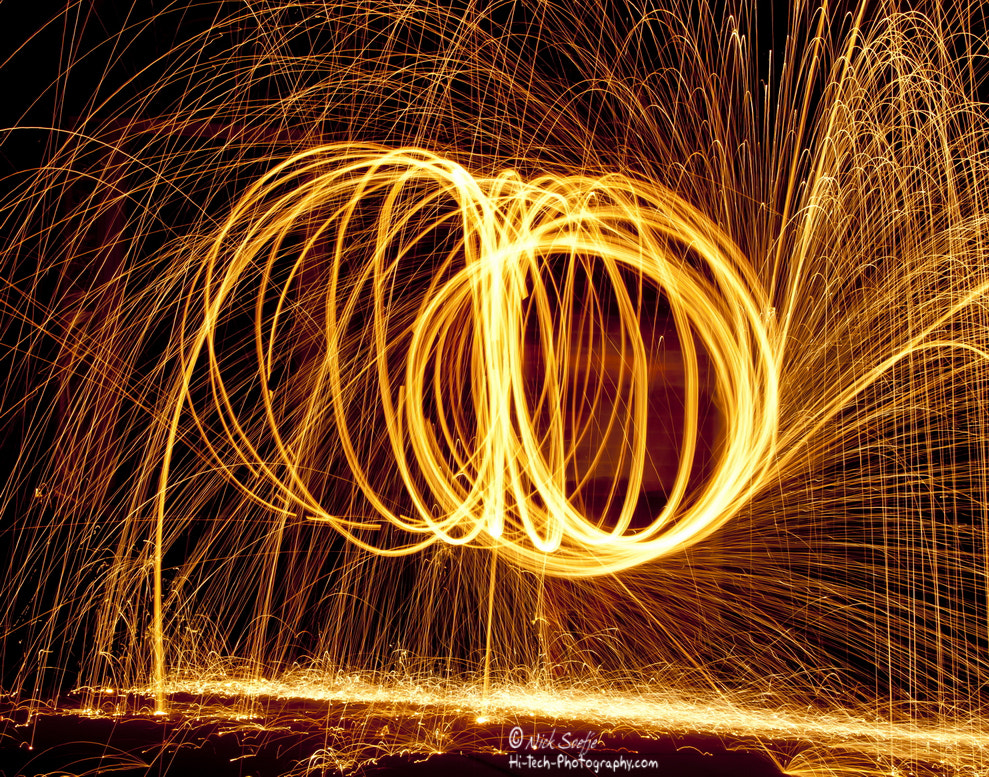 Photograph  Glowing Sparks by Nick Soefje on 500px
