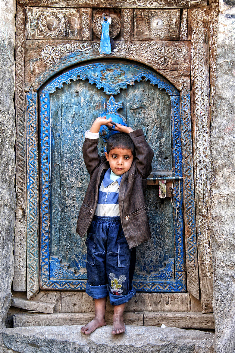 Photograph Blue Boy in DjiBBla by anna carter on 500px
