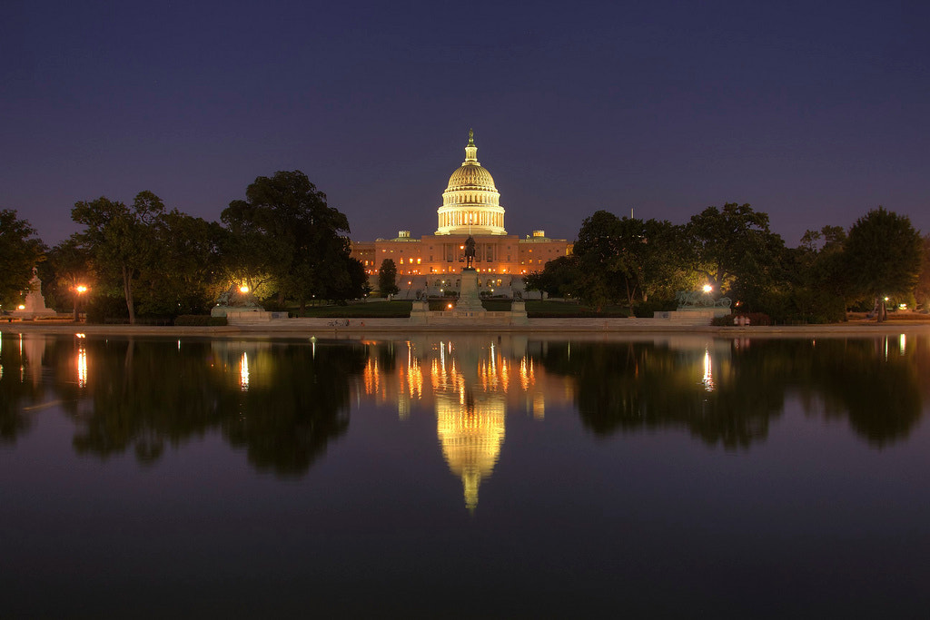 Photograph Capitol Reflection by Logan Brown on 500px