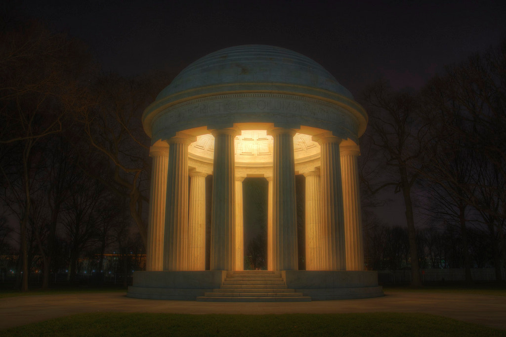 Photograph DC War Memorial by Logan Brown on 500px