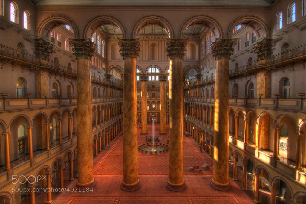 Photograph Building Museum by Logan Brown on 500px