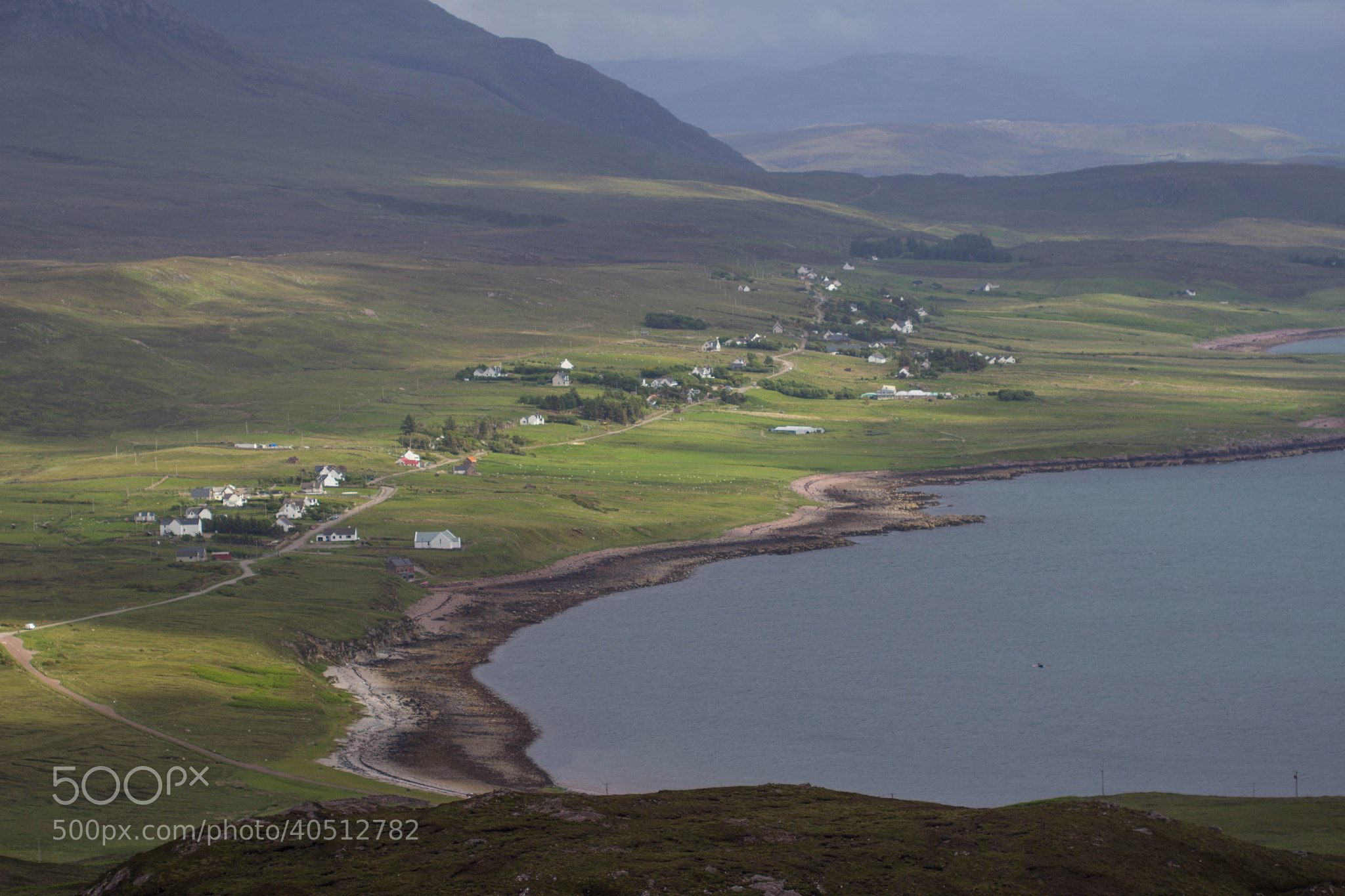 Photograph The Highland town of Achitibuie  by Dan James on 500px