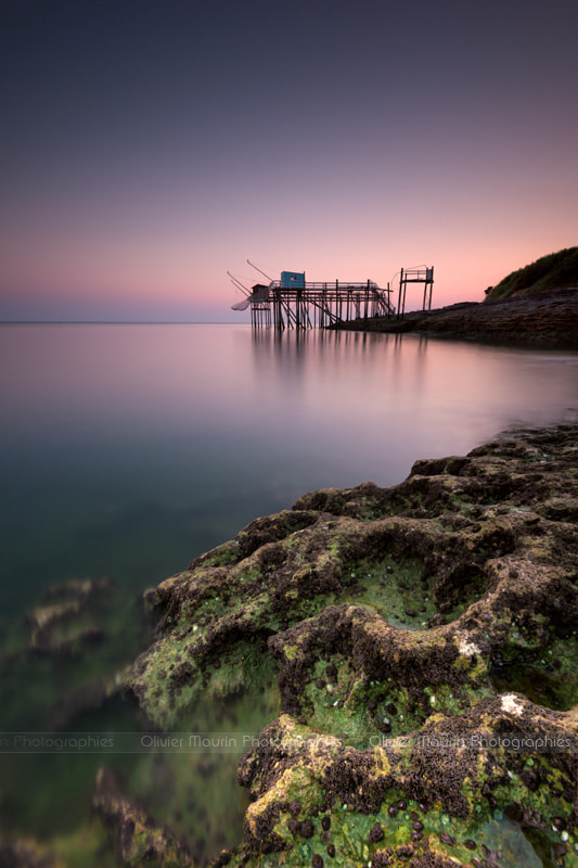 Photograph Fishing huts by Olivier Maurin on 500px