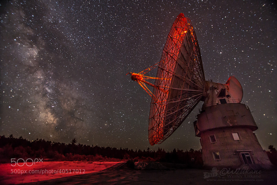 Algonquin Radio Observatory by Wesley  Liikane on 500px.com