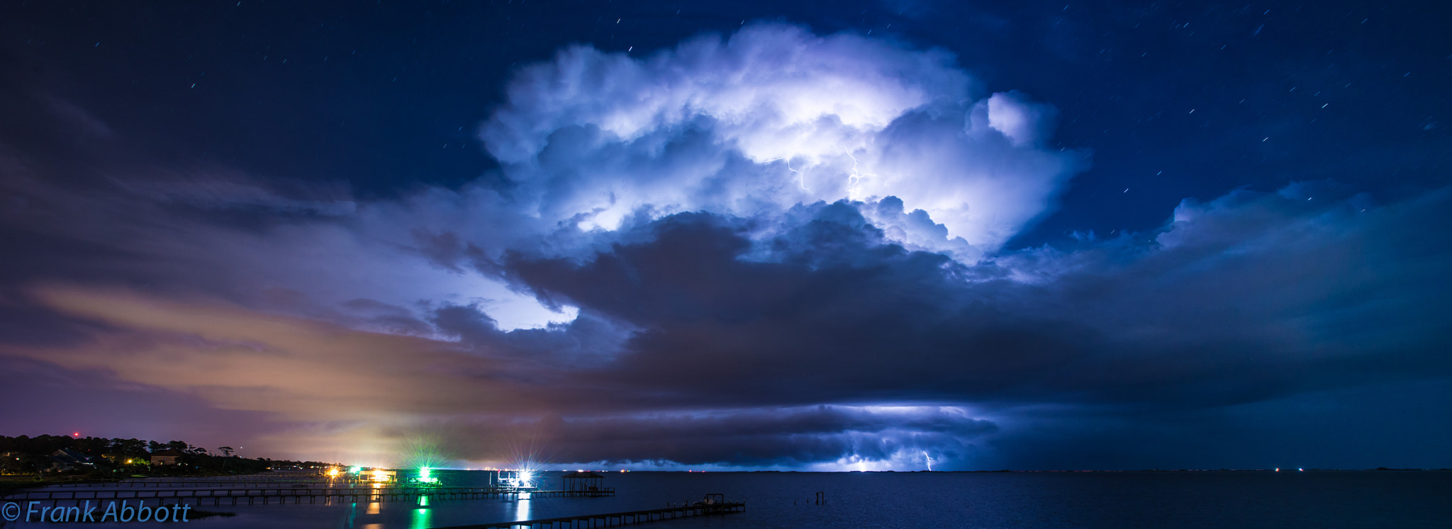 Photograph Lightning Night by Franklin Abbott on 500px