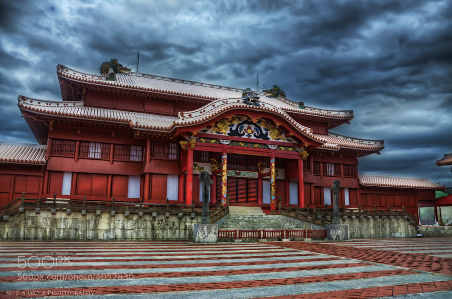 Photograph Shuri Castle by John Souza on 500px