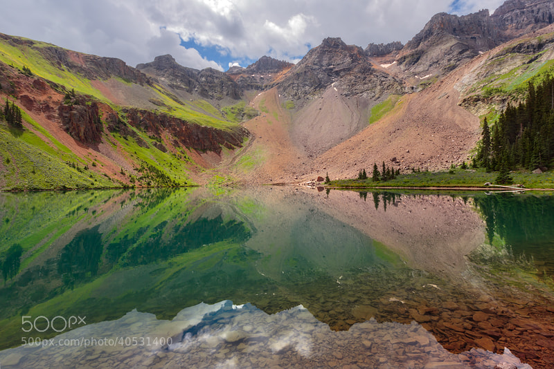 Photograph Reflecting on Blue Lakes  by Nate Miller on 500px