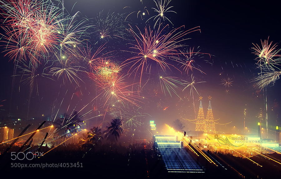 Photograph Happy Nu Year by morthen pontoh on 500px