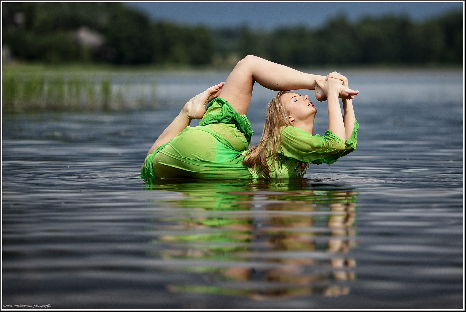 Photograph Water girl by Evaldas Steinbergas on 500px