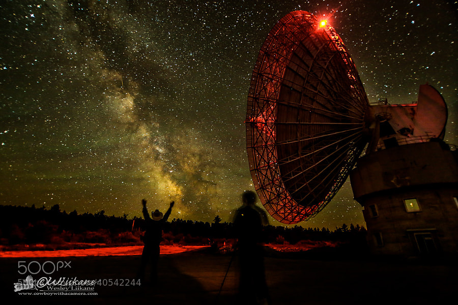 Under the Dish by Wesley  Liikane on 500px.com