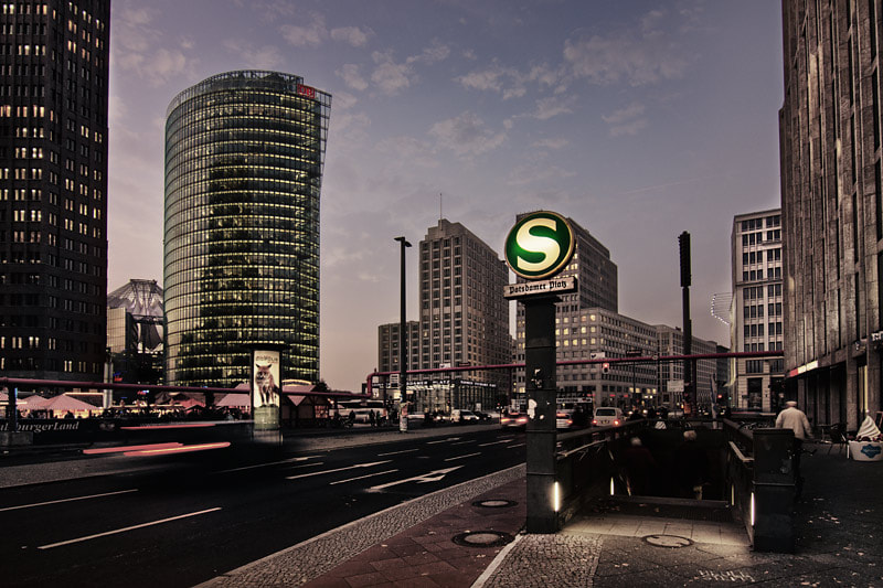 Photograph Potsdamer Platz by Manfred Dittrich on 500px