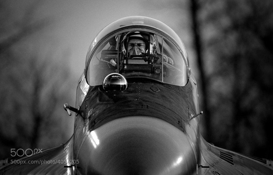 Photograph Fighter Pilot by Krzysztof Baranowski on 500px