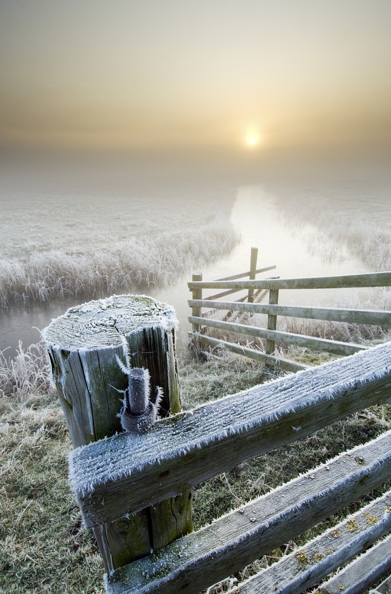 Photograph Winter sunrise on the marshes by Robert Canis on 500px