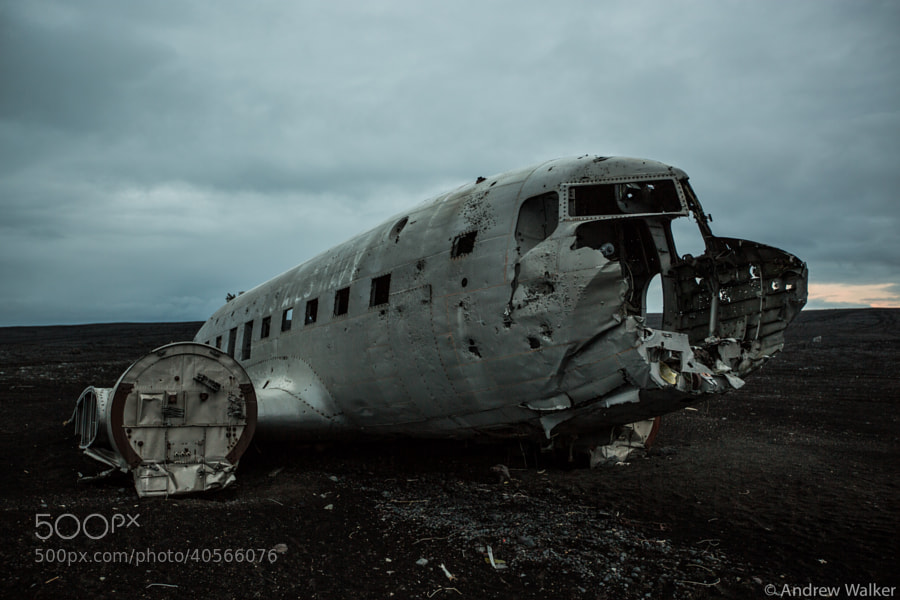 Photograph Plane Wreck by Andrew Walker on 500px