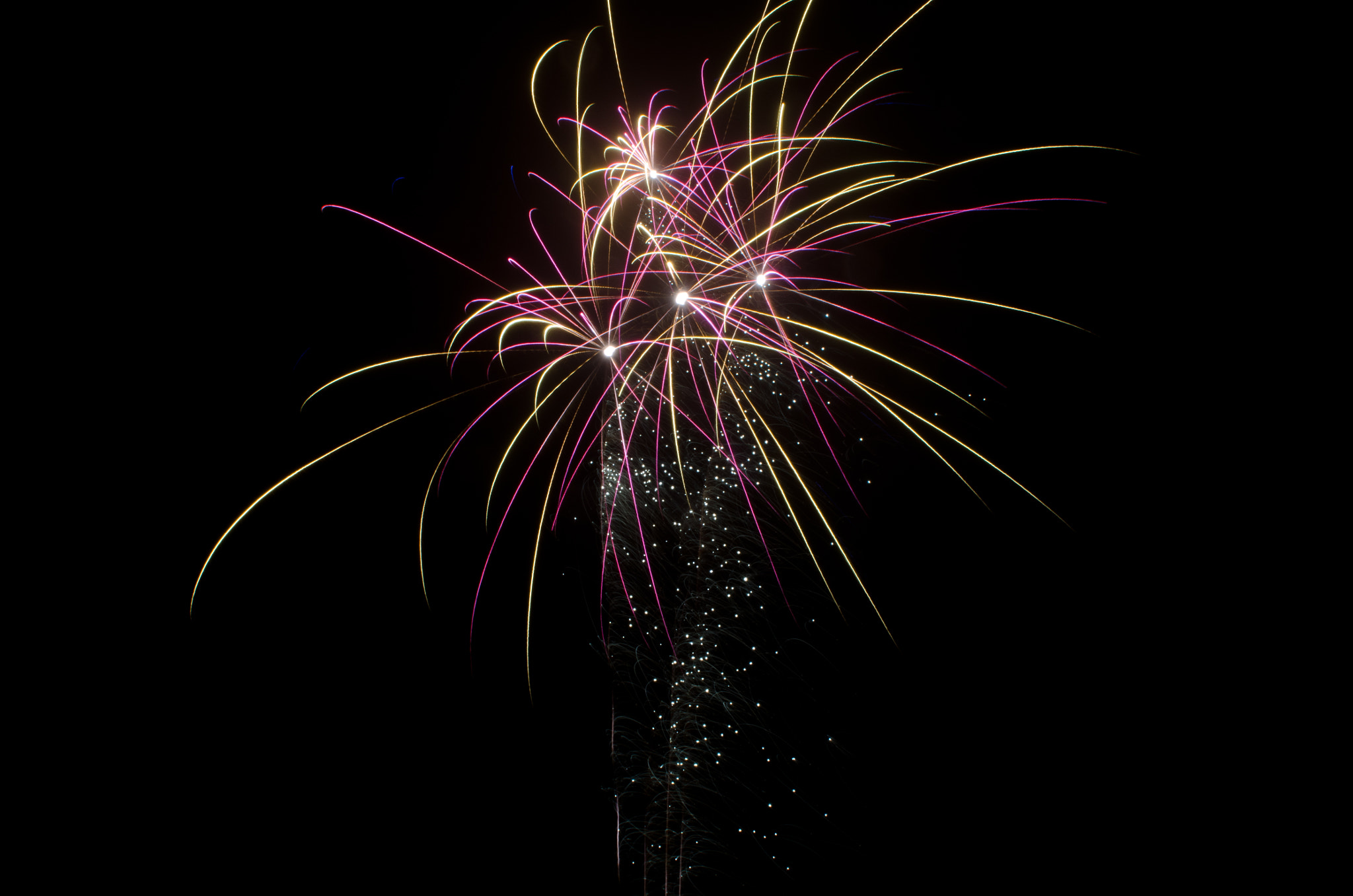Photograph Pink Fireworks by Martin Bjørnskov on 500px