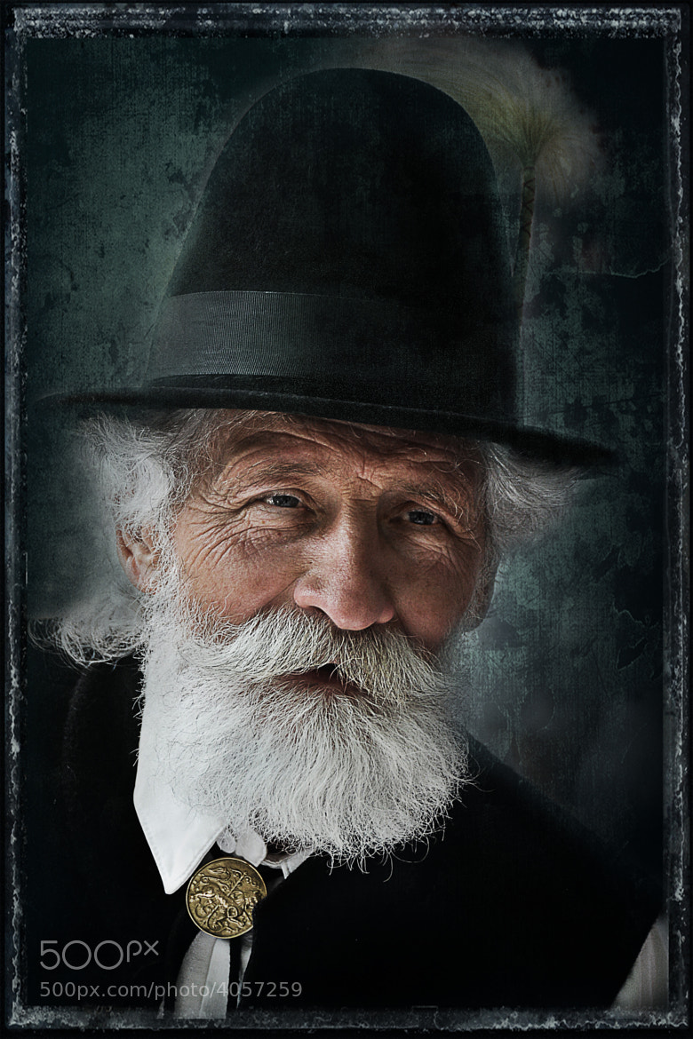 Photograph Old Gentleman by Csilla Zelko on 500px