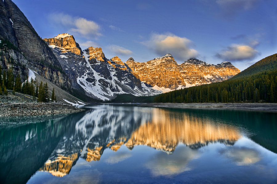 Photograph Ten Peaks by Jack Booth on 500px