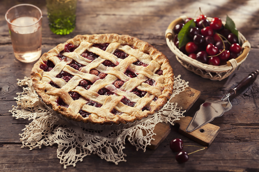 Photograph Cherry pie by Maria Komar on 500px