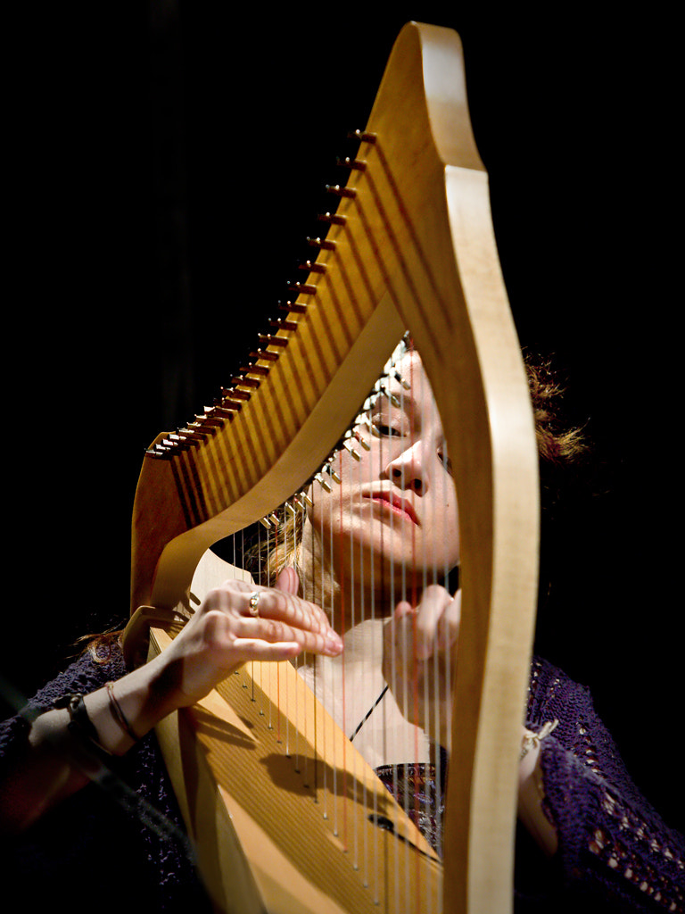 Photograph The harpist by luca giuliani on 500px