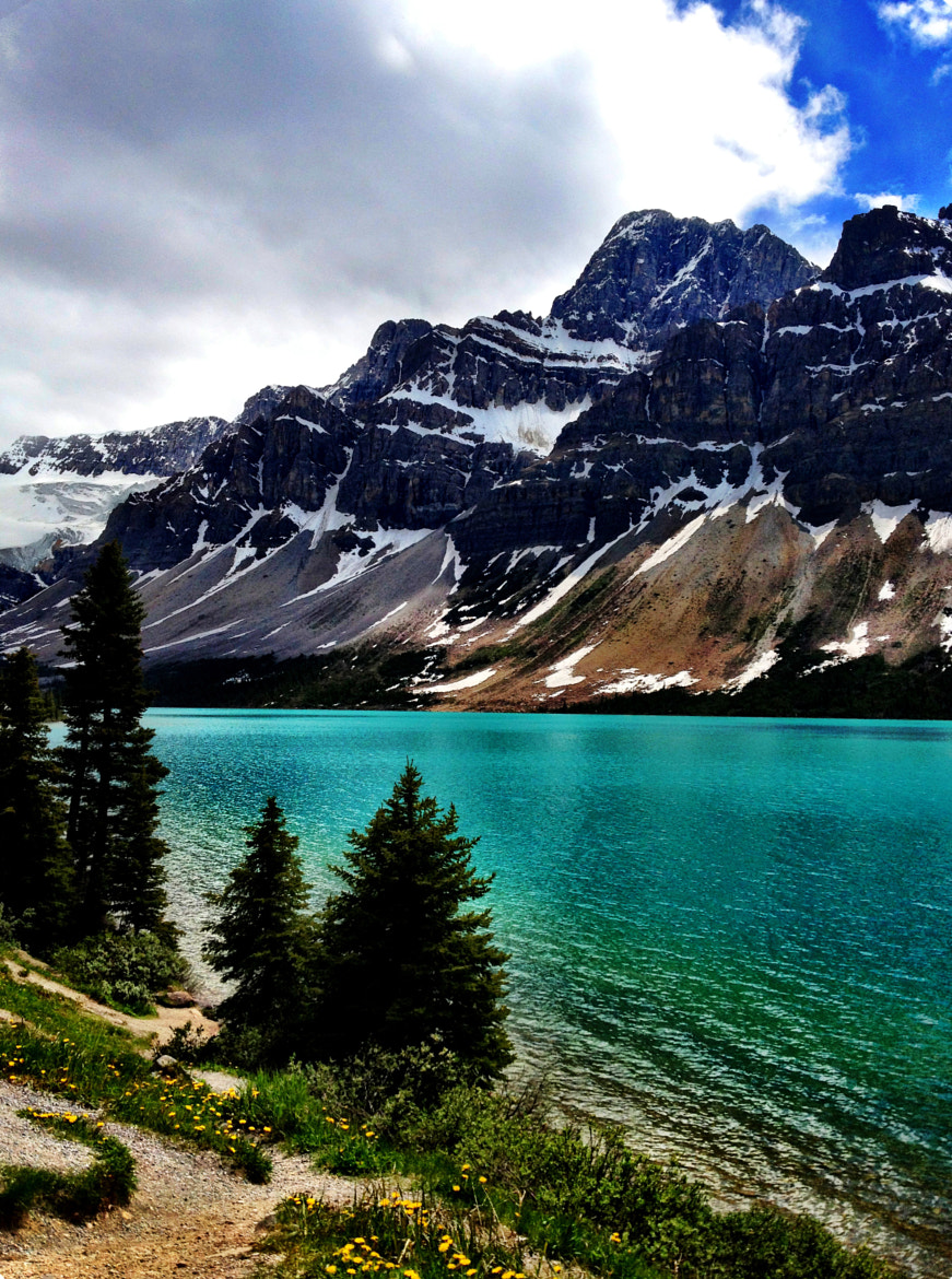 Photograph Bow Lake in Jasper by Rose Smith on 500px