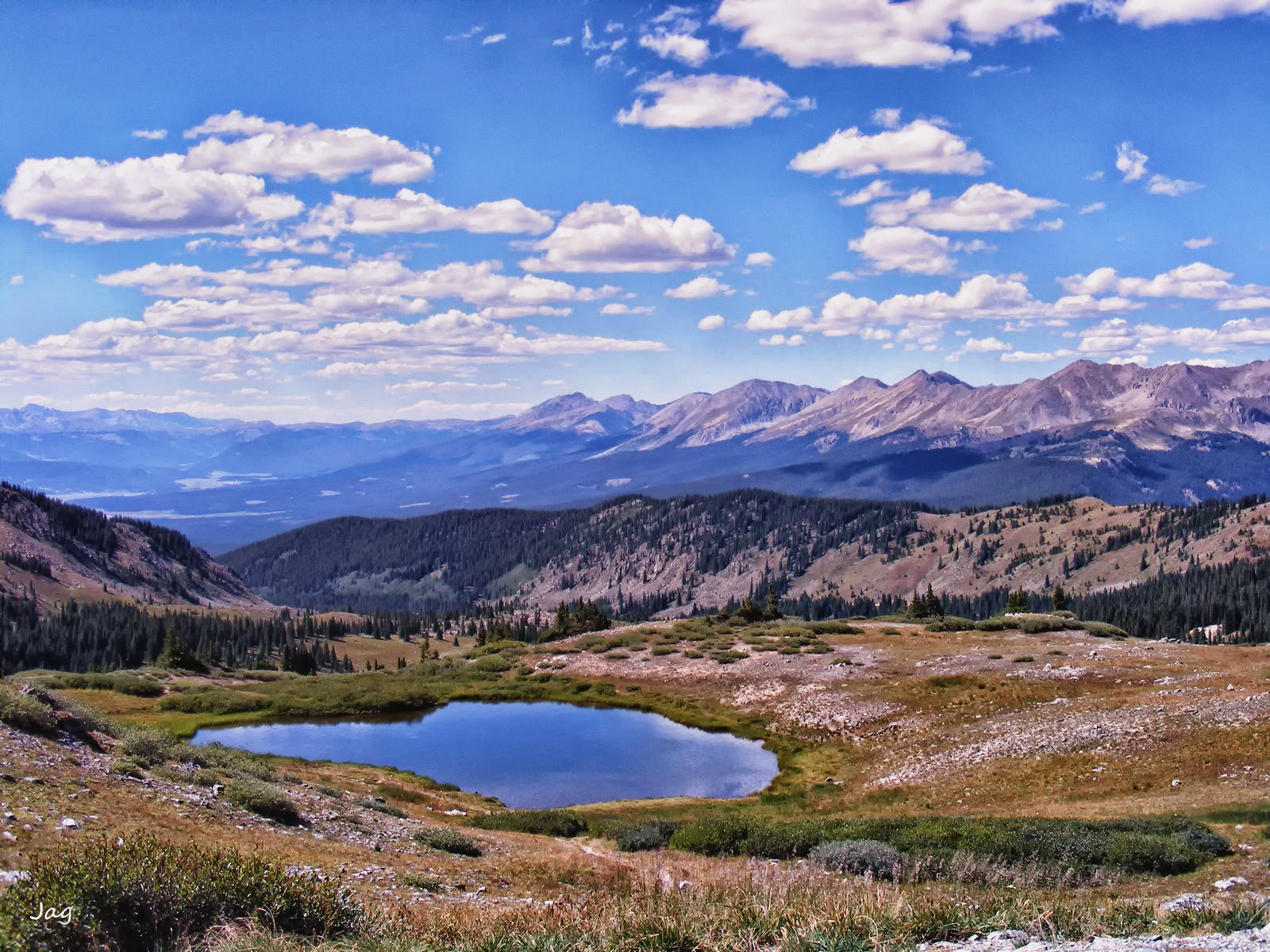 Photograph Colorado Rockies in August by James Gramm on 500px