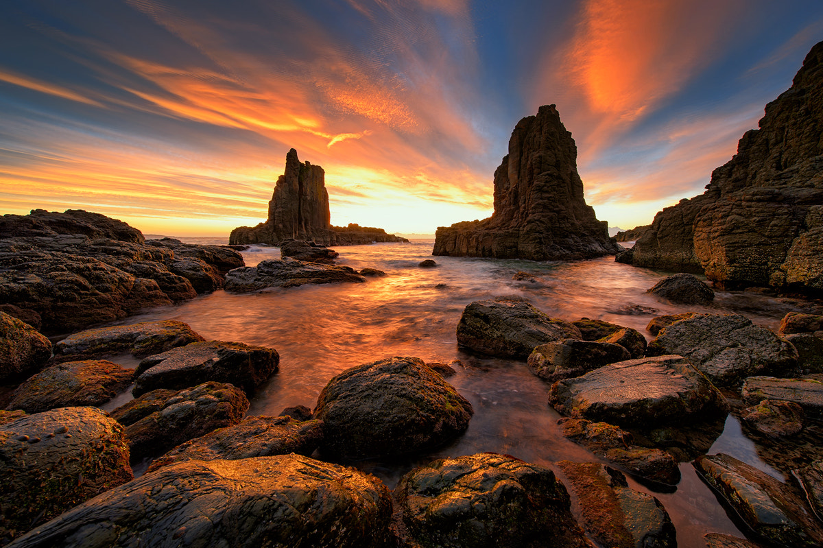 Photograph Kiama Cathedral Rock by PhoenixFire  on 500px