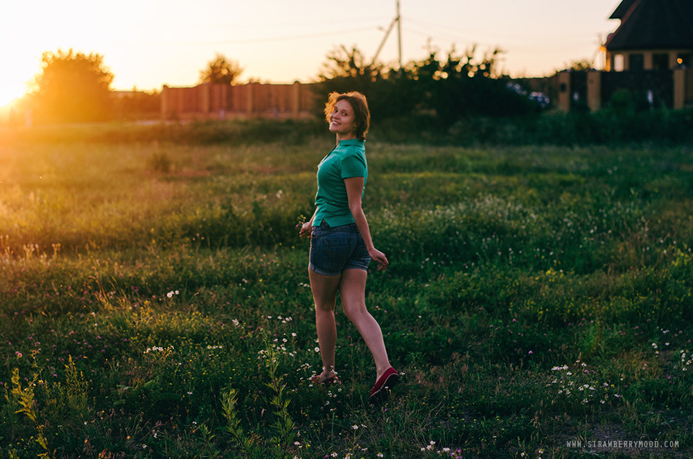 Photograph How I love summer sunsets in the countryside by Julia Krasovskaya on 500px
