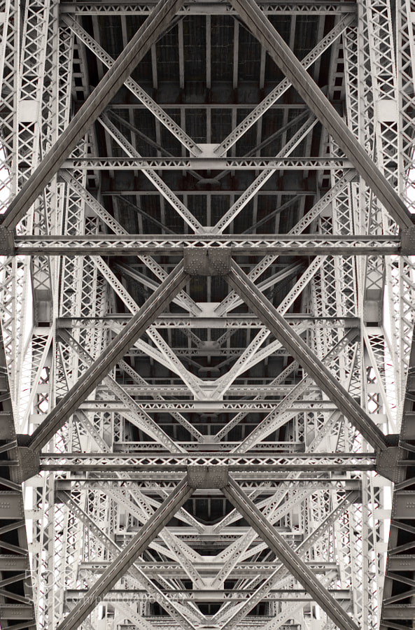 Under the Aurora Bridge in Seattle near the Fremont neighborhood. taken on an Adobe Photowalk.