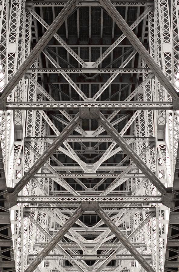 Under the Aurora Bridge in Seattle near the Fremont neighborhood. taken on an Adobe Photowalk.