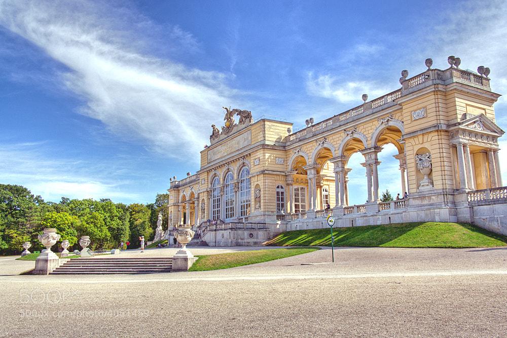 Photograph Vienna Schönbrunn Glorietta by Grzegorz Tomicki on 500px