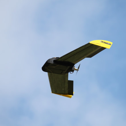 UAV in flight