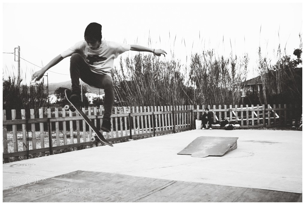 Photograph Love on the skateboard by panos giannopoulos on 500px