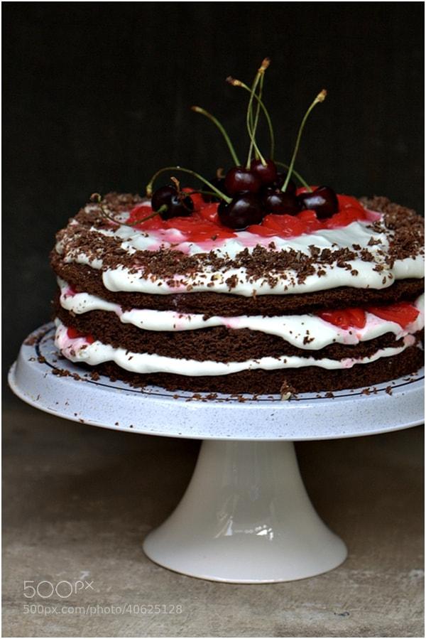 Photograph Black Forest Cake by Deeba Rajpal on 500px