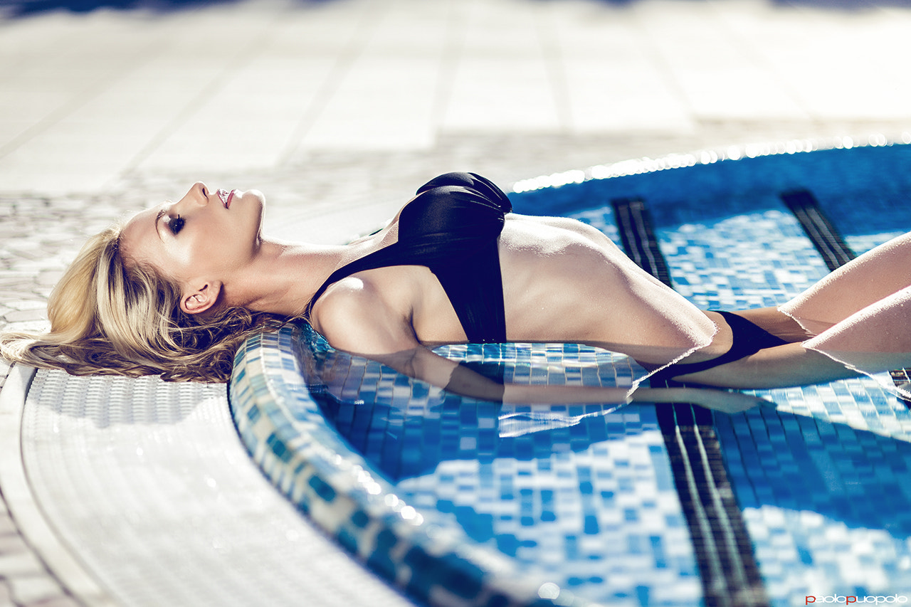 Photograph Blue Goddess - Model: Tiziana by Paolo Puopolo on 500px