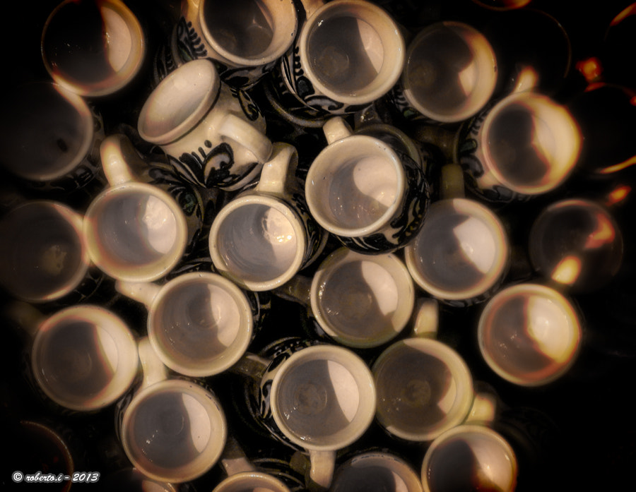 Photograph cups for plum brandy by Roberto Iosupescu on 500px