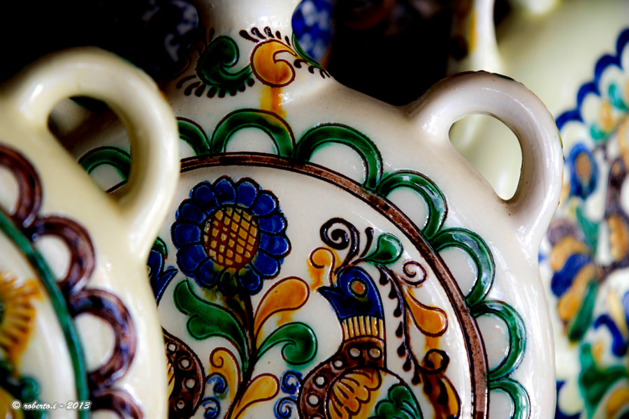 Photograph ceramic pots by Roberto Iosupescu on 500px